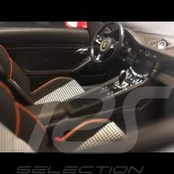 Porsche 911 type 991 Carrera 4S Mk 2 agate grey / orange 1/18 Spark WAX02100013