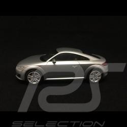Audi TT coupé phase III gris argent fleuret floret silver grey Florettsilber grau 1/43 Kyosho 5011400413