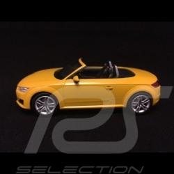 Audi TT Roadster phase III jaune vegas Vegas yellow Vegasgelb 1/43 Kyosho 5011400523