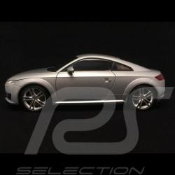 Audi TT coupé phase III gris fleuret argent fol silver grey florettsilber grau 1/18 Minichamps 5011400415