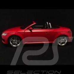 Audi TT Roadster phase III rouge Tango red Tangorot 1/18 Minichamps 5011400525