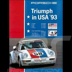 Porsche Poster 934 RS Triumph in USA 1993 - 81