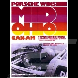 Porsche Poster 917 wins Mid Ohio Can-Am - 108