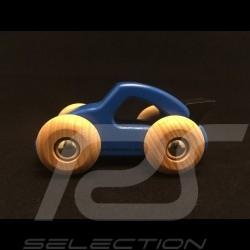Voiture Porsche en bois bleu Porsche Design WAP0400110G wooden car Holzauto