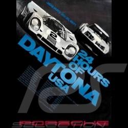 Porsche Poster 917 Gulf 24 hours of Daytona USA 1971 - 80 - 6967 - MAP09006108