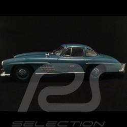 Mercedes 300 SL portes papillon glullwing flugelturen w198 1954 bleu clair light blue lichtblau 1/18 Minichamps 180039007