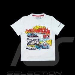T-Shirt Porsche 917 BD Comic comics white weiß blanc Porsche MAP085 - enfant kids kinder