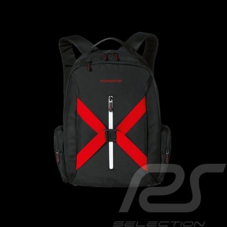 Sac à dos backpack rucksack Porsche Motorsport Collection noir black schwarz Porsche WAP0502300G