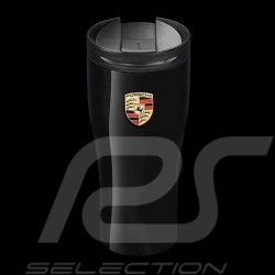 Design Mug Black Gloss Finish Thermo Porsche Wap0500630h Isothermal High WHEI2D9