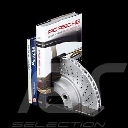 Serre-livres Bookend Buchstutze bremsscheibe Porsche 911 Carrera disque de frein brake disc Porsche Design WAP0500020F