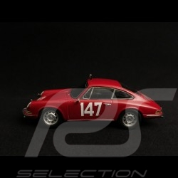 Porsche 911 Monte Carlo 1965 n° 147 rouge red rot linge falk 1/43 Spark MAP02020115