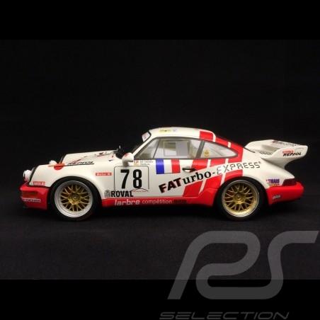 Porsche 911 type 964 RSR Le Mans 1993 n° 78 FAT 1/18 GT SPIRIT ZM083
