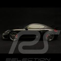 Porsche Cayman GT4 2015 noire black schwarz 1/18 GT SPIRIT ZM105