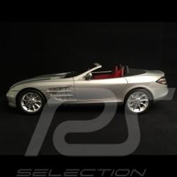 Mercedes Benz SLS AMG 2010 gris argent mat matte silver grey matt silbergrau 1/43 Minichamps 100039029