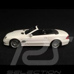 Mercedes Benz SL 55 AMG 2007 blanche white weiß 1/43 Minichamps 400036170