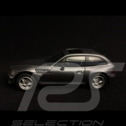 BMW Z3 M coupé 2002 gris acier steel grey stahlgrau metallic 1/43 Minichamps 400029064