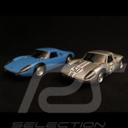 Duo Porsche 904 GTS 1964 Rennen und Straße 1/43 Minichamps 400065720 400646550