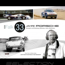 Book 33 Jahre Porsche Rennsport und Entwicklung - Peter Falk