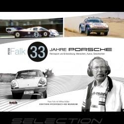 Buch 33 Jahre Porsche Rennsport und Entwicklung - Peter Falk