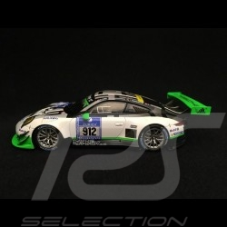 Porsche 911 type 991 GT3 R 24h Nürburgring 2016 n° 912 verte green grün 1/43 Spark MAP02018116