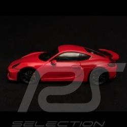 Porsche Cayman GT4 2015 rouge red rot 1/43 Spark MAP02021116