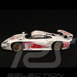 Porsche 911 type 996 GT1 British GTC 1999 n° 7 Wollek 1/43 Minichamps 400996807