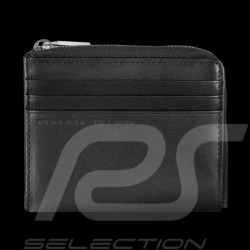 Porte-monnaie Gelborse Coin holder Porsche bourse cuir leather leder black schwarz noir Classic Line 2.1 Porsche Design 40900021