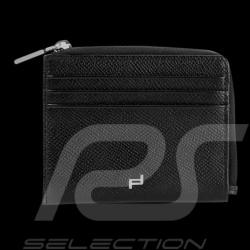 Porte-monnaie money holder geldborse Porsche bourse cuir noir black leather schwarze leder French Classic 3.0 Porsche Design 409