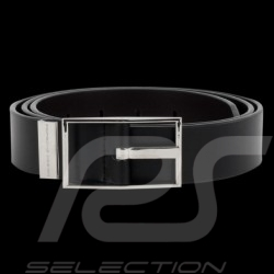 Ceinture Porsche belt Gürtel  Ohio 35 cuir noir black leather schwarze leder - homme men Herren - Porsche Design 4090001981