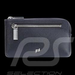 Etui porte-clés key holder case Schlüsseletui Porsche cuir bleu blue leather blau leder Saffiano Porsche Design 4090002324
