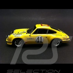 Porsche 911 S T Le Mans 1972 n° 41 Toad Hall Racing Louis Meznarie signature unterschrift 1/43 Spark WAX02020033