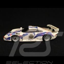 Porsche 911 type 993 GT1 n°1 black windows 1/43 Minichamps WAP020026