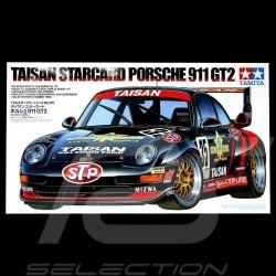 Maquette kit Porsche 911 type 993 GT2 1996 Taisan Starcard 1/24 Tamiya 24175