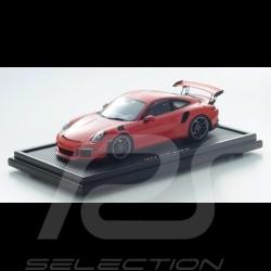 Porsche 911 type 991 GT3 RS orange fusion 1/12 Spark WAX02200002 lava orange lava orange