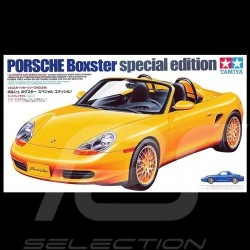Maquette kit modellbau Porsche Boxster 986 special edition 1/24 Tamiya 24249