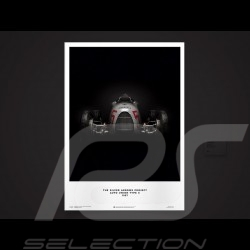 Porsche Poster Silver Arrows Auto Union Type C 1937