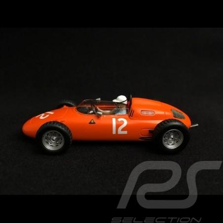 Spark 43 Porsche 718 orange n°12 Carel Godin de Beaufort Grand Prix USA 1963 MAP02018715 S1866