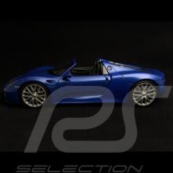 Porsche 918 Spyder 2014 bleue 1/24 Welly MAP02484416 blue blau