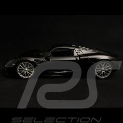 Porsche 918 Spyder 2014 noire 1/24 Welly MAP02484116 black  schwarz