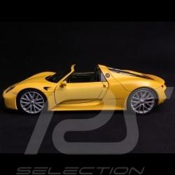 Porsche 918 Spyder 2014 yellow 1/24 Welly MAP02484516