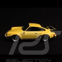 Porsche 911 type 930 Turbo 3.3 jaune talbot Talbot yellow Talbotgelb 1/43 Minichamps CA04316037