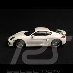 Porsche Cayman GT4 white 1/43 Minichamps CA04316070