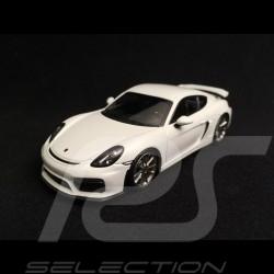 Porsche Cayman GT4 blanc white weiß 1/43 Minichamps CA04316070