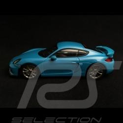 Porsche Cayman GT4 Miamiblau 1/43 Minichamps CA04316072