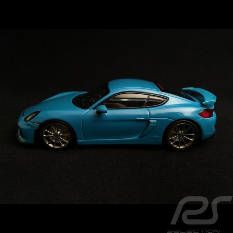 Porsche Cayman GT4 miami blue  1/43 Minichamps CA04316072