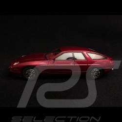 Porsche 928 Sedan 4 doors 1986 metallic red 1/43 Kess KE43024010