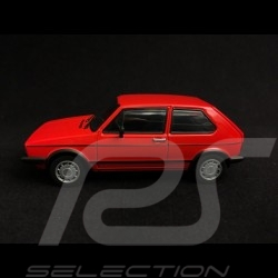 Volkswagen Golf GTI phase 1 1983 rouge red rot 1/43 Minichamps 940055170