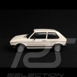 Volkswagen Golf GTI phase 1 1983 blanche white weiß 1/43 Minichamps 940055171
