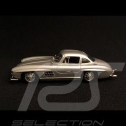 Mercedes Benz 300 SL coupe 1955 silver grey 1/43 Minichamps 940039000