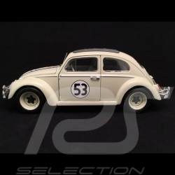 Volkswagen VW Coccinelle Käfer beetle n° 53 Herbie The Love bug 1/18 Hot Wheels BLY59